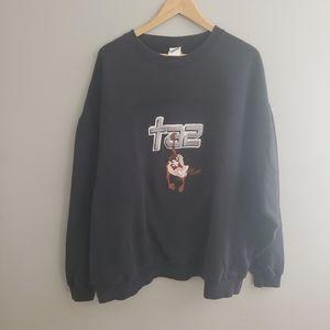 Vintage Taz sweatshirt XXXL